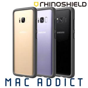 official photos 43f02 e8493 Details about RhinoShield CrashGuard 3M Drop Proof Bumper Case For Samsung  Galaxy S8+ GREY
