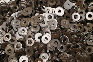 800-Stainless-Steel-1-4-x-5-8-x-0-050-Flat-Washers-18-8-SS