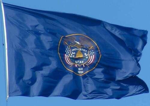 NEW UTAH 3x5ft FLAG new superior quality fade resist flag us seller