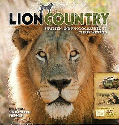 """""""AS NEW"""" Weston, Chris, Lion Country Book"""