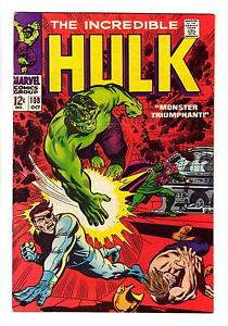 THE-INCREDIBLE-HULK-108-VF-NM-NICK-FURY-amp-MANDARIN-FREE-SHIPPING