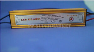 Constant Current Driver for 7-12x 3W 3W High Power LED AC85-265V 650mA