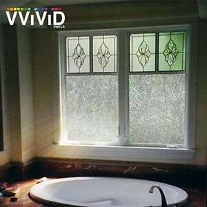 36 X 60 Vvivid Rice Paper Frosted Privacy Window Vinyl Film Home