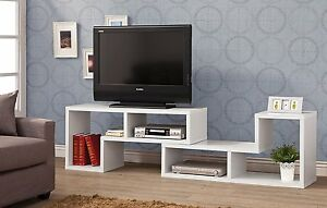 Details About Modern Bookcase Entertainment Center Flat Screen Tv Cabinet Stand 50 60 Console