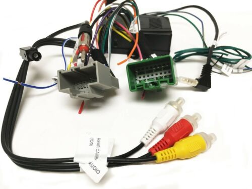 LIN Aftermarket Radio Wire Harness for GM LAN V2 Retains SWC Bus Vehicles