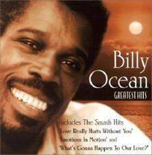 BILLY OCEAN: GREATEST HITS  - CD (2001) 14 TRACKS: ON THE RUN, CAN YOU FEEL IT