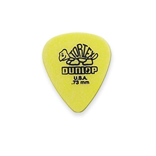 6x Dunlop Tortex Plektren Plektrum Pick Plektra Plektron Gitarre oder Pickholder
