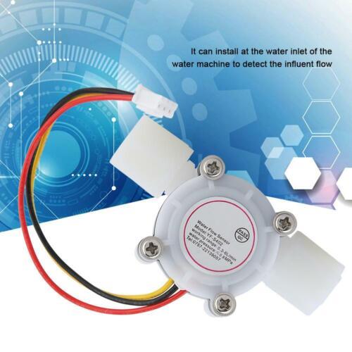 Min 1Pcs Water Hall Flow Effect Sensor Control Flowmeter G1//4 YF-S402 0.15-3L