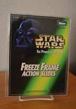 Star Wars POTF FREEZE FRAME ACTION SLIDE Holder Mailaway NEW HTF