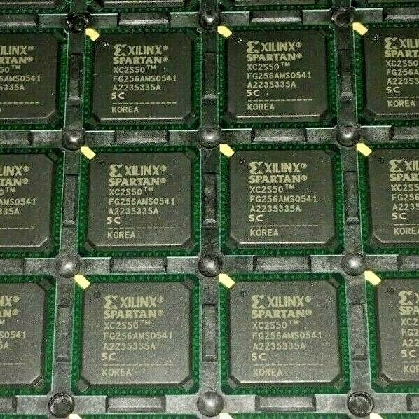 XILINX 13 pcs LOT IC FPGA 92 I//O 144TQFP XC2S50-5TQ144C