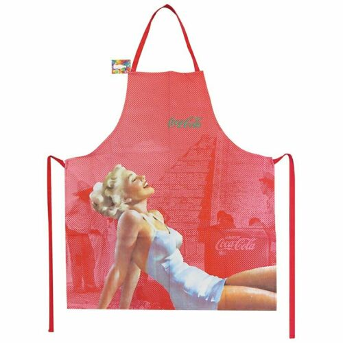Coca Cola Retro Vintage Look Coke Apron Pin Up Blonde Girl