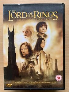 Lord-Of-The-Rings-Deux-Towers-DVD-2002-Tolkien-Fantaisie-Epique-Classique-2-Disc