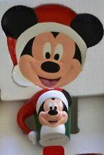 disney mickey mouse candy cane christmas 2000 cookies milk for santa plate mug - Mickey Mouse Christmas Cookies