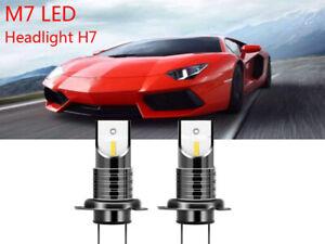 M7-H7-Lampade-Auto-LED-30000Lm-110W-6000K-Bianco-Fari-Lampadine-CSP-Chip-Light