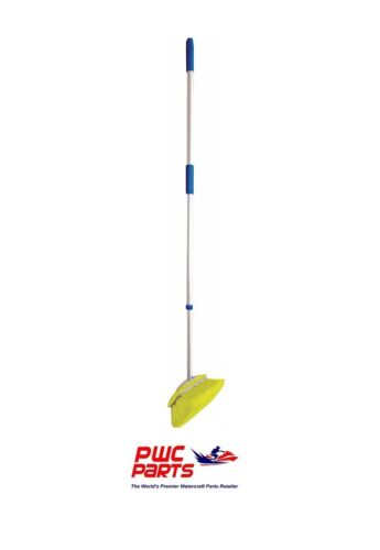 "Star Brite Extend-A-Brush 3/'-6/' Standard Extending Handle w 8/"" Soft Brush 40191"