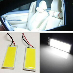 2pcs-blanco-HID-Lampara-12V-36-COB-5W-Coche-Panel-Cupula-Interior-bombilla-LED