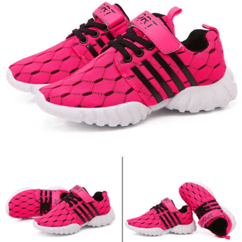 Boys Girls Athletic Casual Shoes Running Sports Kids Shoe Breathable Sneaker LF