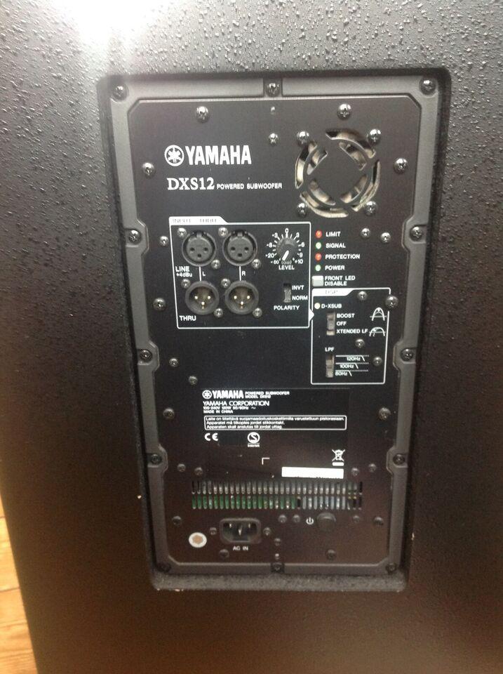 Aktiv Sub Woofer, Yamaha DXS 12