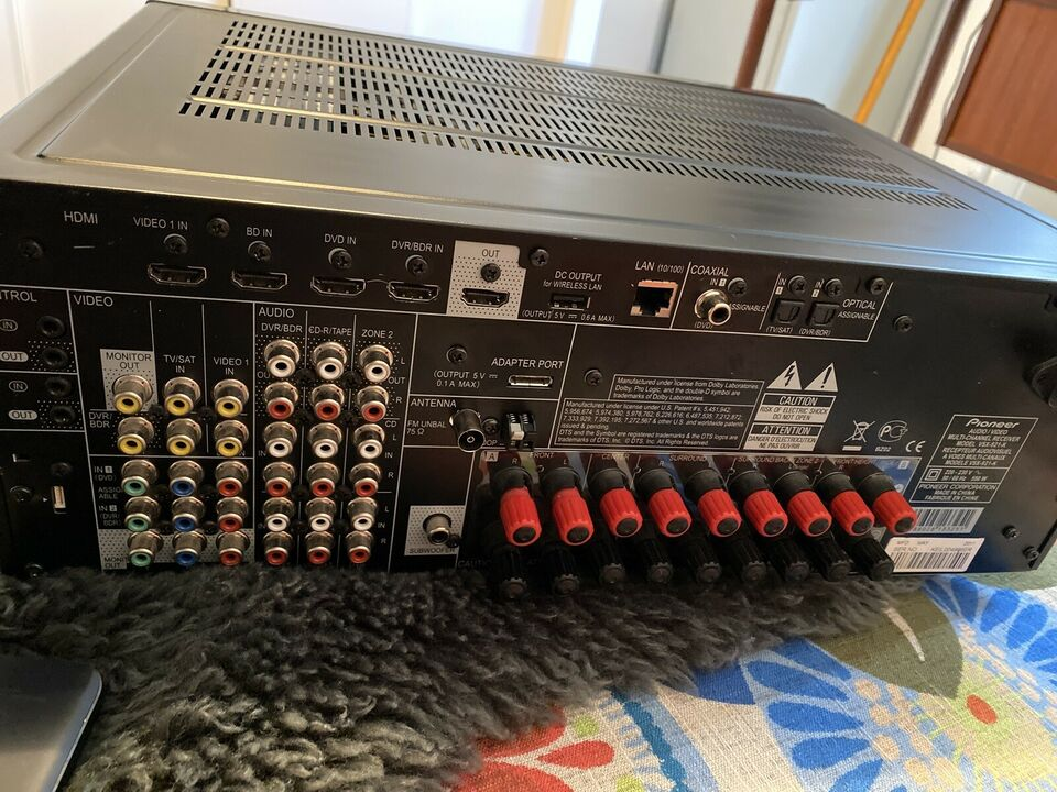 Forforstærker, Pioneer, VSX-921