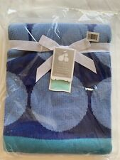 a3ab997eb Just Born Jacquard Sweater Blanket Whales for sale online