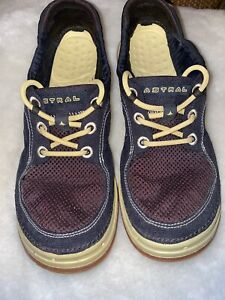 Astral-Porter-Navy-amp-Yellow-Shoes-Size-7-5-Mens-8-5-Womens