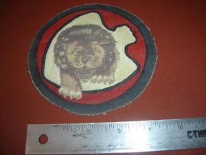 WWII USAAF DOOLITTLE RAIDERS LION ARROWHEAD 37 BOMB SQDN