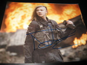 NATALIE-DORMER-SIGNED-AUTOGRAPH-8x10-PHOTO-MOCKINGJAY-PROMO-HUNGER-GAMES-COA-D