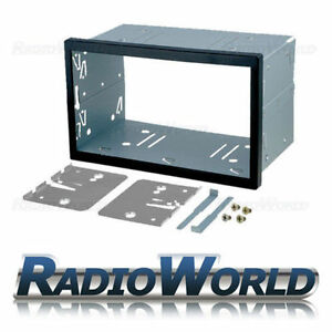 Universal-Double-Din-103-Cage-Kit-Fitting-Trim-amp-keys-182-x-103mm-Radio-Headunit