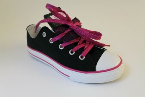 ginnastica Star Uk1 nere All Converse Chuck Scarpe Ox Ct Kids da Dbl Tng Uk2 Rose xa0qO1