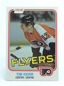 1981-82-Tim-Kerr-251-Philadelphia-Flyers-Center-OPC-O-Pee-Chee-Hockey-Card-H425