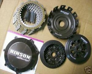 Honda TRX450R TRX 450R Hinson Billet Basket Heavy Duty Clutch Kit Gasket O-Ring