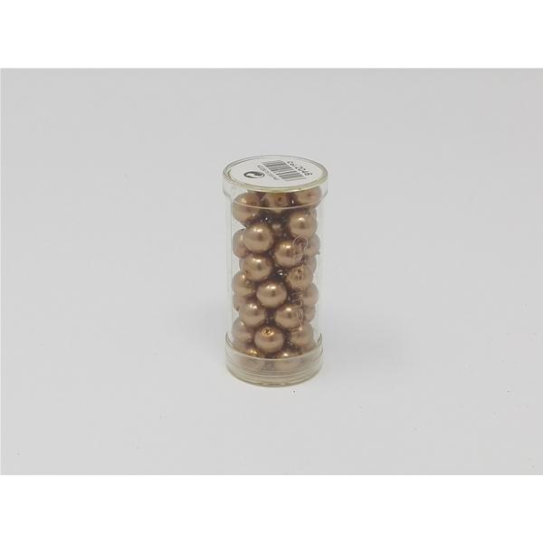 20 abalorios metálicos balas 4mm metal perlas oro viejo metal balas bastelperlen Gold