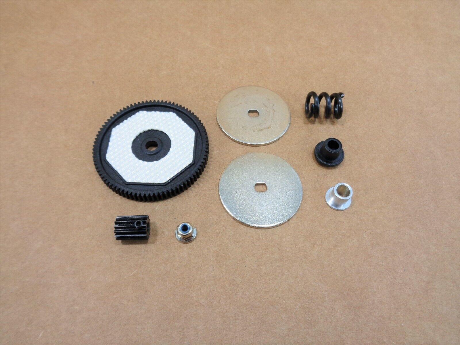 economico in alta qualità Nuovo Losi 1 1 1 10 22s 2wd SCT   ST 84t Spur Gear Slipper Clutch Set Pads Pinion  vendita scontata