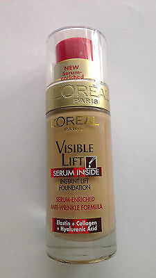 L'Oreal Visible Lift Serum Inside Instant Lift Foundation 130 Golden Beige