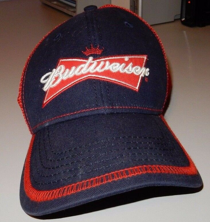 Vintage Snapback Budweiser Grab Some Buds Snapback Vintage Adjustable Trucker Baseball Hat Cap e5166b
