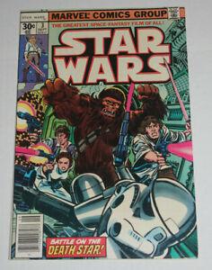 STAR-WARS-3-NM-Marvel-Comics-1977-1ST-PRINT-Han-Solo-LUKE-SKYWALKER-NM-9-2