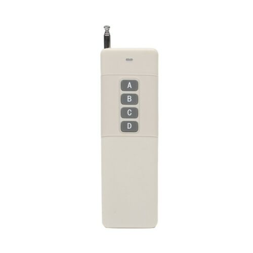 3000m Long Range High Power 1//2//4//6//8//12CH RF Remote Control Transmitter 433 MHz