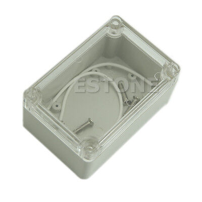 Waterproof Clear Cover Electronic Project Box Enclosure Case 100x68x50mm Plastic