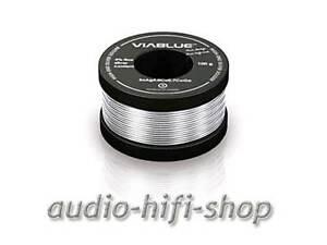 Tv- & Heim-audio-teile Initiative 100g Viablue Lötzinn 4% Silber Bleifrei Silberlot Sehr Gute Fließeigenschaften