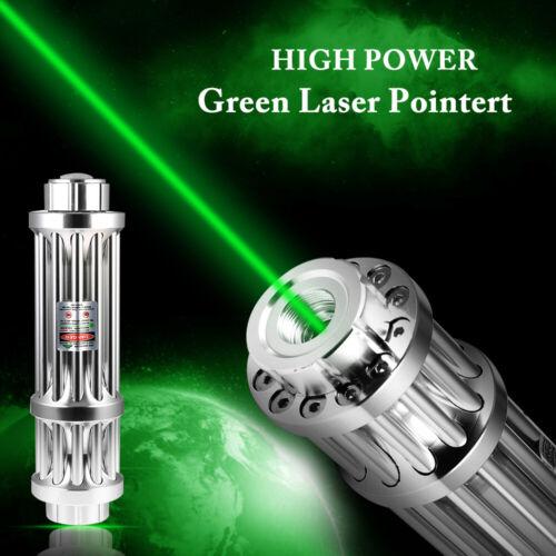 20 Miles Laserpointer Beam Light Grün Leistungsstarke Lazer Brennendes Licht