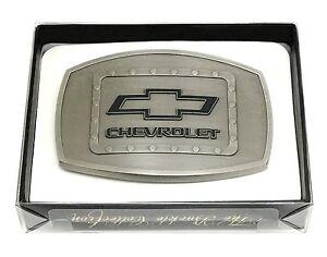 7935b218aa2a ... CHEVROLET-Boucle-de-ceinture-CHEVY-Camions-Logo-Authentique-