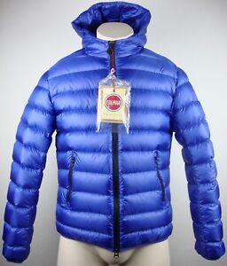 Détails sur Colmar Originals Combs Doudoune Hommes Veste Capuche Taille 46 bleu neuf avec D. afficher le titre d'origine