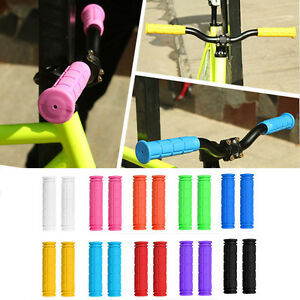 Bike-Handle-Bar-Rubber-End-Grip-BMX-Soft-MTB-Cycle-Road-Mountain-Bicycle-Scooter