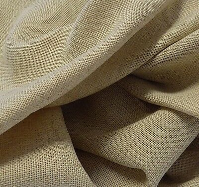 58 INCH ROUND EQUINOX FAUX BURLAP TABLECLOTH - WASHABLE POLYESTER TABLECLOTHS