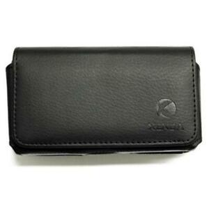BLACK-HORIZONTAL-LEATHER-CASE-COVER-POUCH-SWIVEL-BELT-Q2X-for-SMARTPHONES