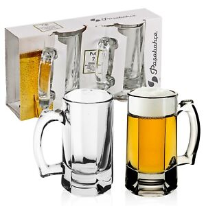 2-4-6-Pasabahce-30cl-Beer-Lager-Stein-Tankard-Half-Pint-Glasses-Ale-Pub-Mugs-Set