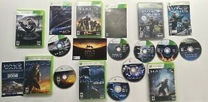 Xbox-360-Halo-3-3-ODST-4-Combat-Evolved-Anniversary-Reach-amp-Wars-6-Game-Lot
