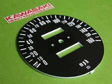 1975-78 Kawasaki SPEEDOMETER FACE PLATE GAUGE speedo z1 kz900 kz1000 kz 900 1000