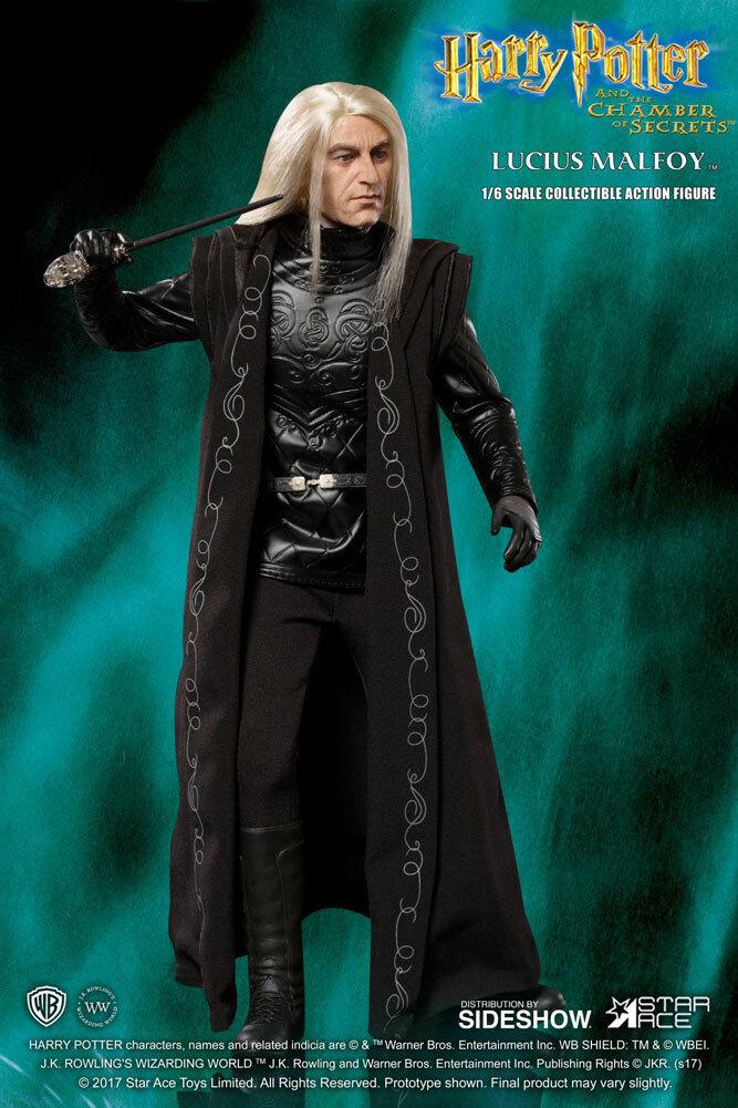 1 6 Harry Potter y la piedra de brujo Lucius Malfoy Estrella Ace