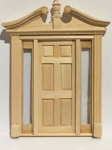 DOLLS HOUSE 24TH SCALE SCROLL TOP  DOOR